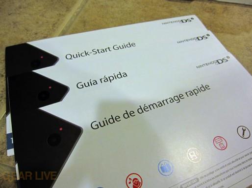 Nintendo DSi instruction manuals