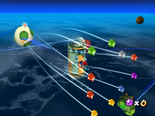 Mario Galaxy HD: Stars!