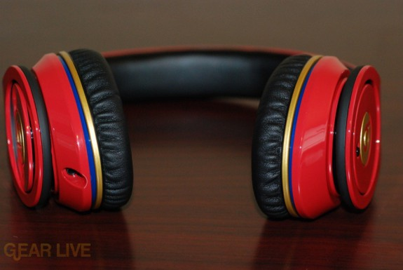 Beats by Dr. Dre Red LeBron James Customs full
