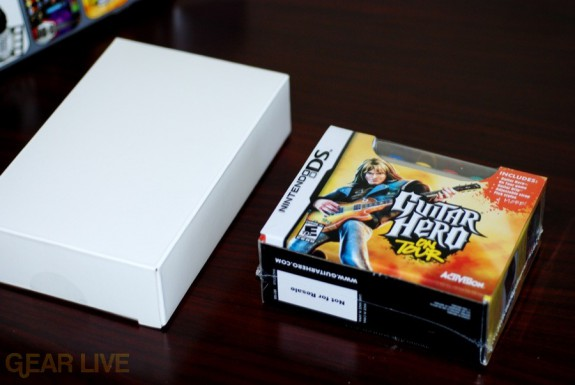 Guitar Hero DS and Game boxes