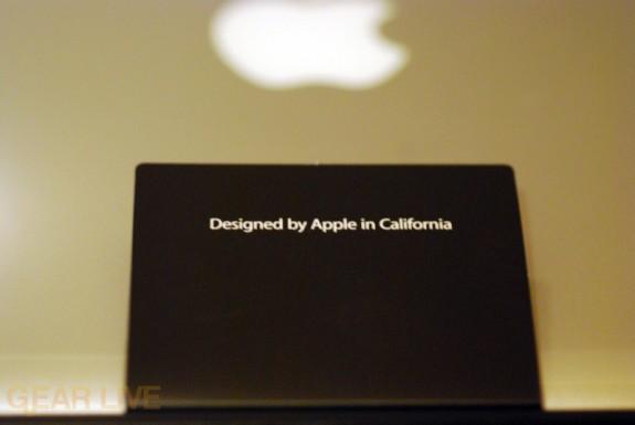 MacBook Air: Designed by Apple