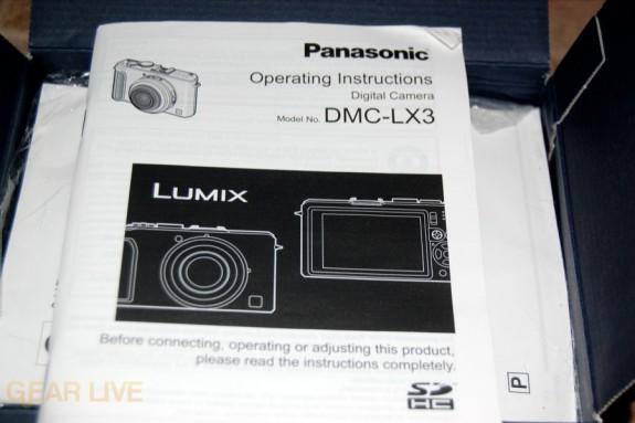 Panasonic Lumix LX3 manual