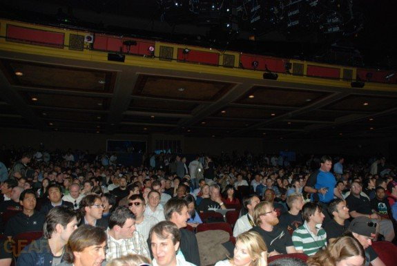 E308 Sony Briefing audience