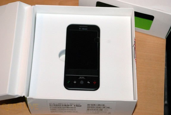 T-Mobile G1 in box