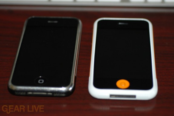 Gear Live iPhone vs Regular