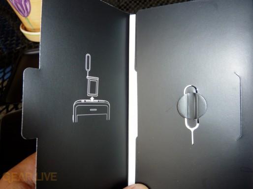 iPhone 3G S SIM card tool