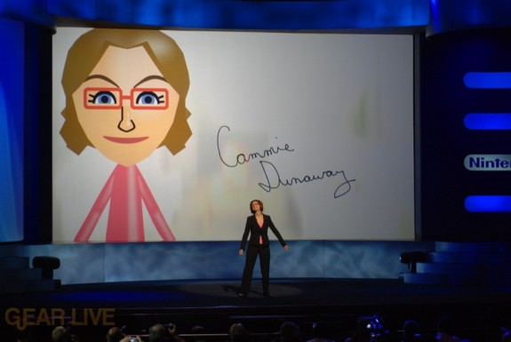 Nintendo E3 08: Cammie Dunaway