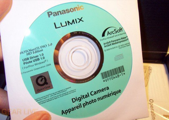 Panasonic Lumix ZS3 software