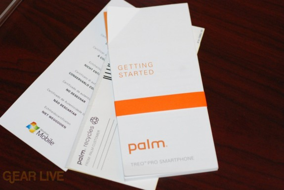 Palm Treo Pro manual