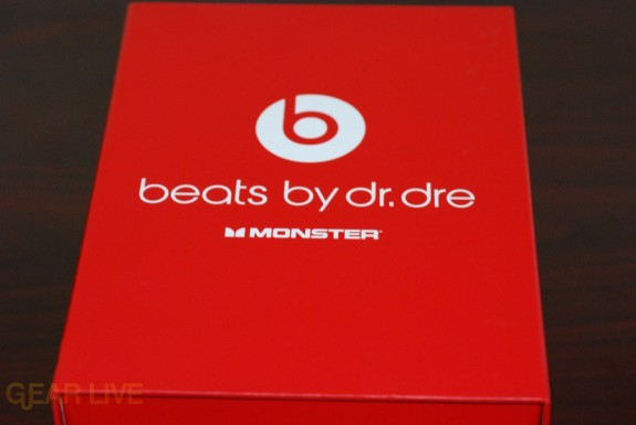 Beats by Dr. Dre red box