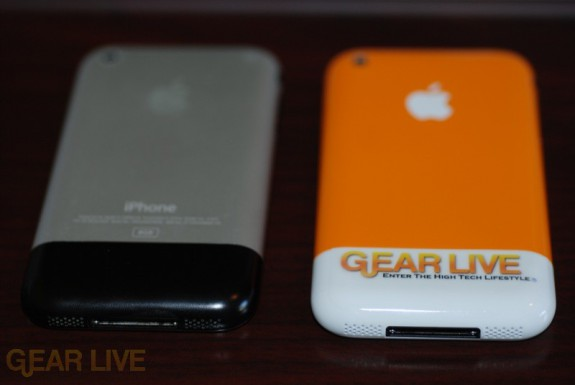 Gear Live iPhone vs Regular (Back)