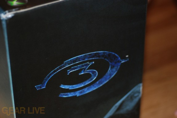 Alternate Halo 3 Logo on Xbox 360 Box