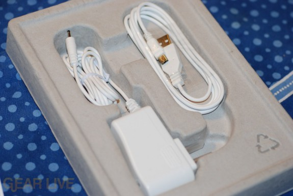 Amazon Kindle charging cable and USB cable
