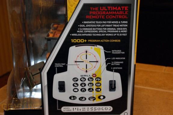 Ultimate Control Wall-E box remote
