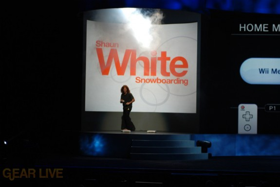 Nintendo E3 08: Shaun White appears