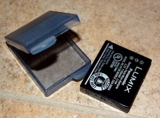 Panasonic Lumix LX3 rechargeable battery