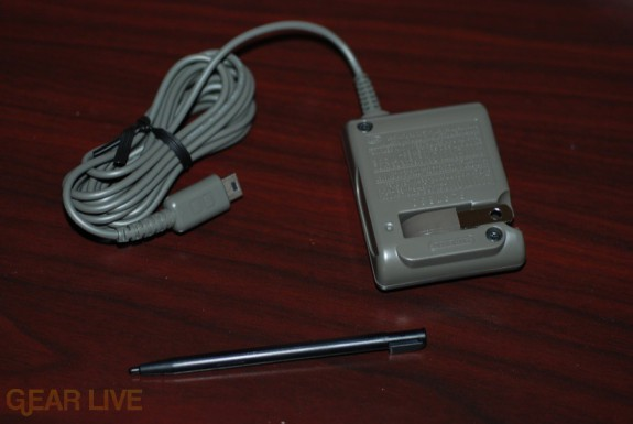 Guitar Hero DS stylus and charger