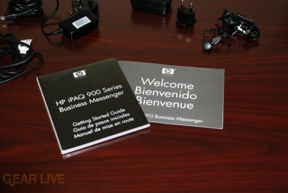 HP iPaq 914 manuals