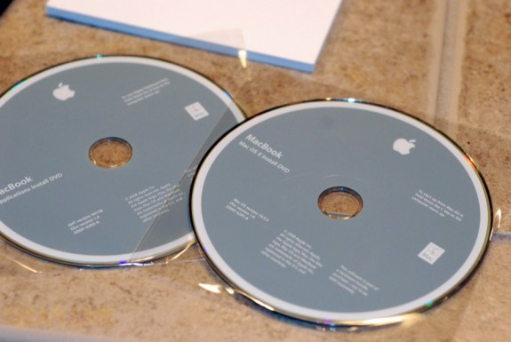 MacBook 2008 discs