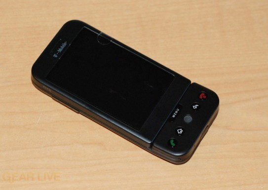 T-Mobile G1 front