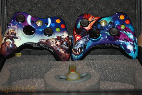 Halo 3 Controllers: Covenant and Master Chief