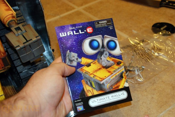 Ultimate Control Wall-E instruction manual