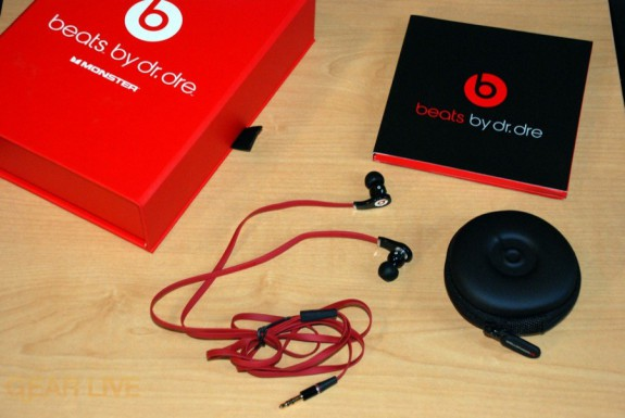 Beats by Dr. Dre Tour Earbuds unboxed