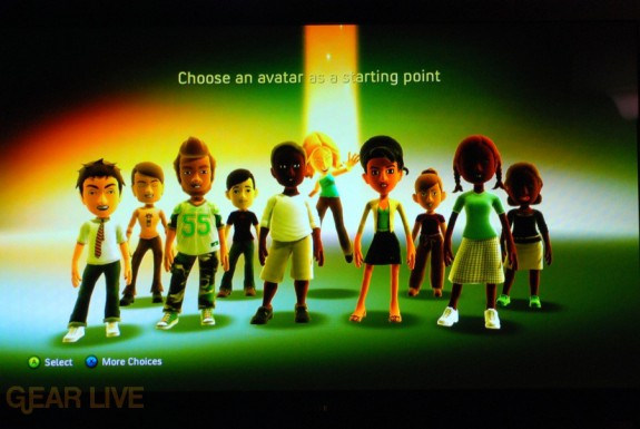 New Xbox Experience: Default Avatars