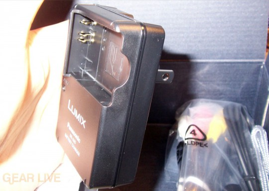 Panasonic Lumix ZS3 battery charger