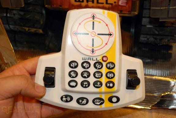 Ultimate Control Wall-E remote control