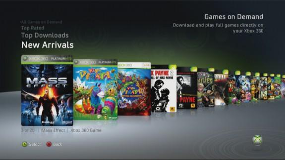 Xbox 360 Games on Demand 2