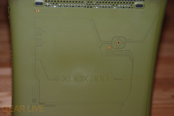 Xbox 360 Halo 3 Special Edition: Left Side