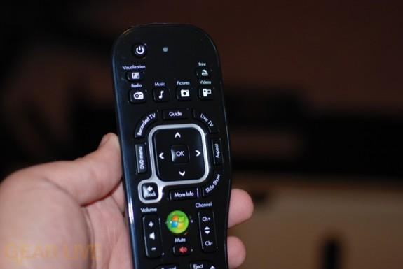 HP TouchSmart PC remote