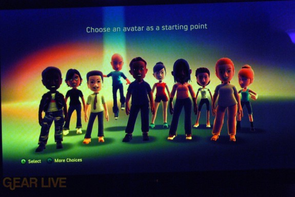 New Xbox Experience: Default Avatars 2