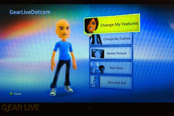 New Xbox Experience: Customize Avatars