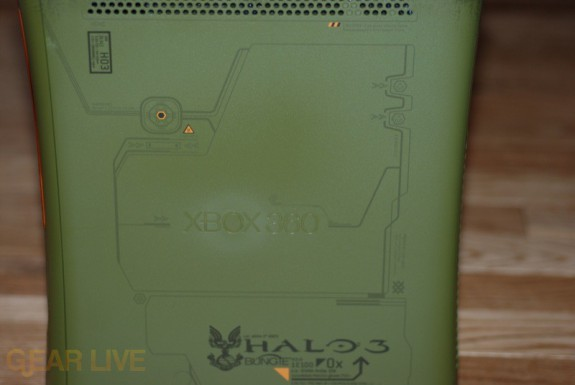 Xbox 360 Halo 3 Special Edition: Right Side