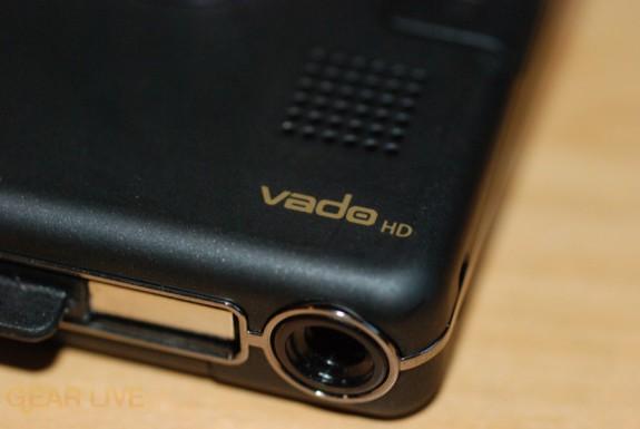 Creative Vado HD audio port