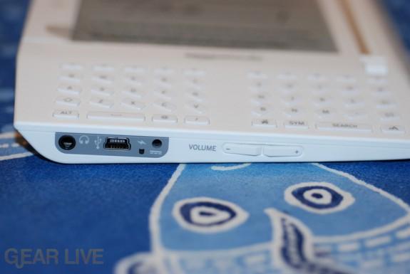 Amazon Kindle port and volume control