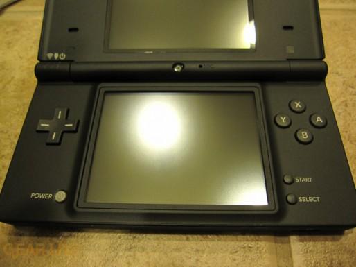 Nintendo DSi bottom screen