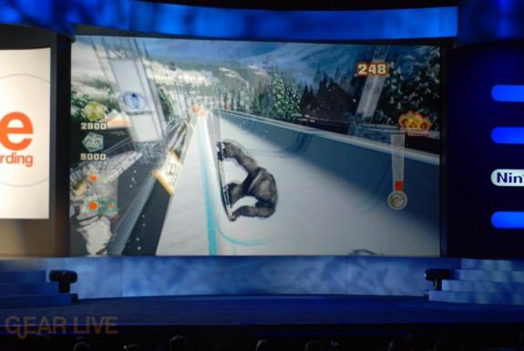 Nintendo E3 08: Shaun White Half Pipe