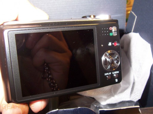 Panasonic Lumix ZS3 LCD screen off