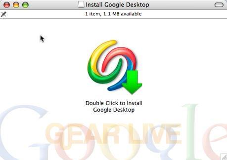 Google Desktop for Mac Installation
