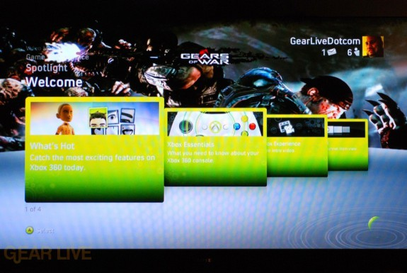 New Xbox Experience: Dashboard