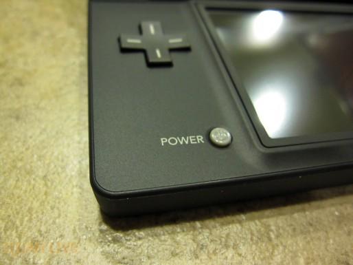 Nintendo DSi power button