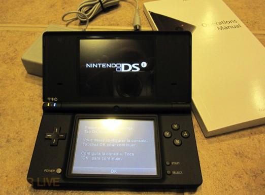 Nintendo DSi unboxed