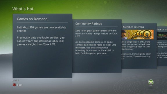 Xbox 360 Fall Preview What's Hot Channel