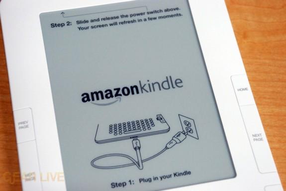 Kindle 2 screen