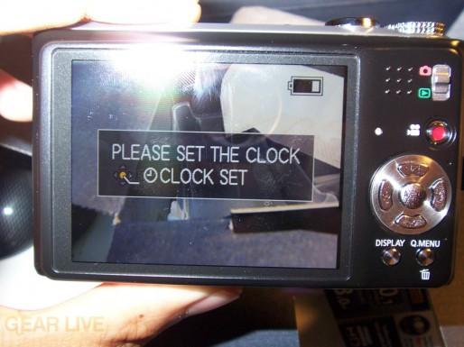 Panasonic Lumix ZS3 LCD on