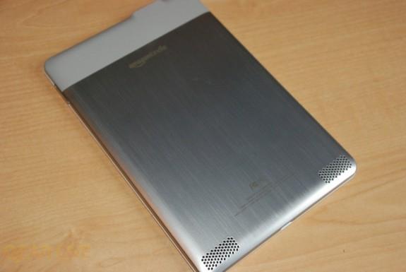 Kindle 2 aluminum back