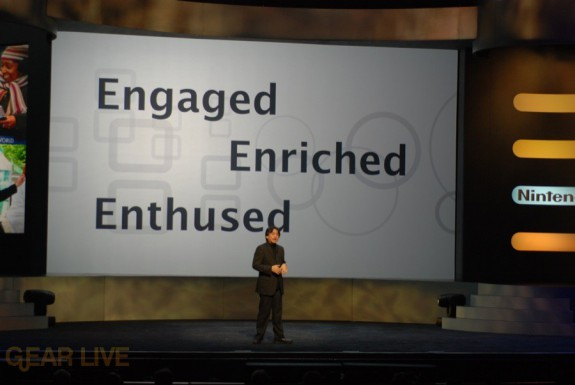 Nintendo E3 08: Engaged, Enriched, Enthused